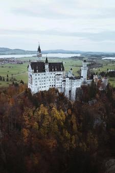 ドイツ、秋のノイシュヴァンシュタイン城