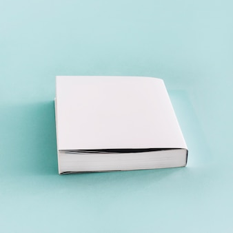 New book with white cover