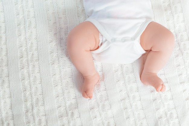 New born baby feet