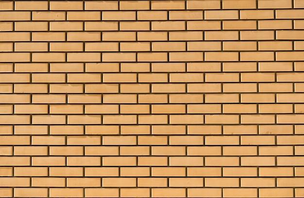 새 벽돌 벽 배경 깨끗하고 깔끔한 새 벽돌 표면 고품질 사진