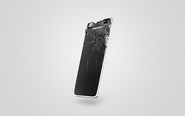 Новый сломанный мобильный телефон