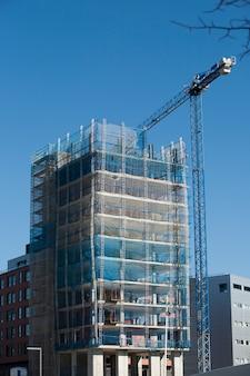 건설중인 새 건물