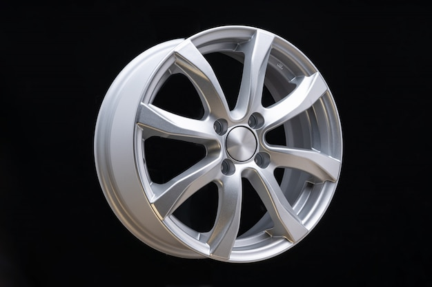 New car alloy wheel