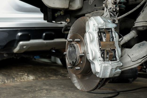 New car brake system replacement