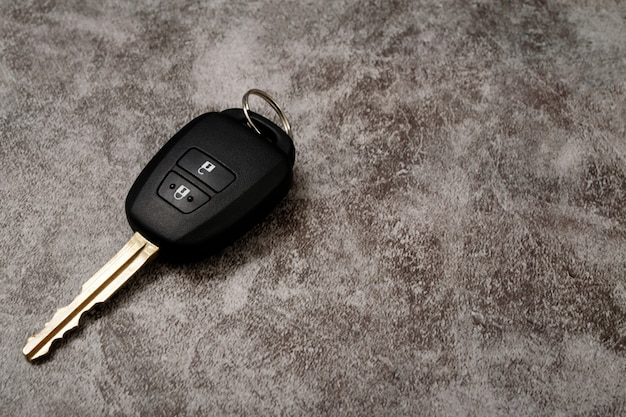 New car keys with low interest loan offer at the showroom