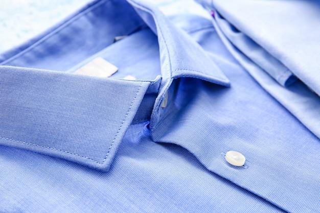 새로운 클래식 남성 셔츠, 근접 촬영