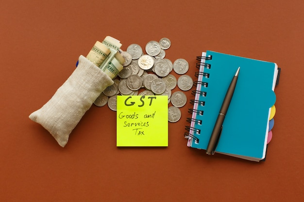 新通貨および物品サービス税、gst税