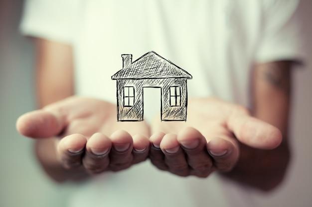 새로운 가정 또는 집 개념