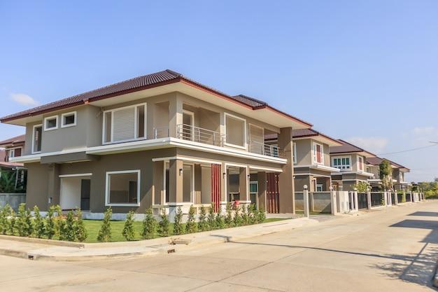 建設現場での新築住宅