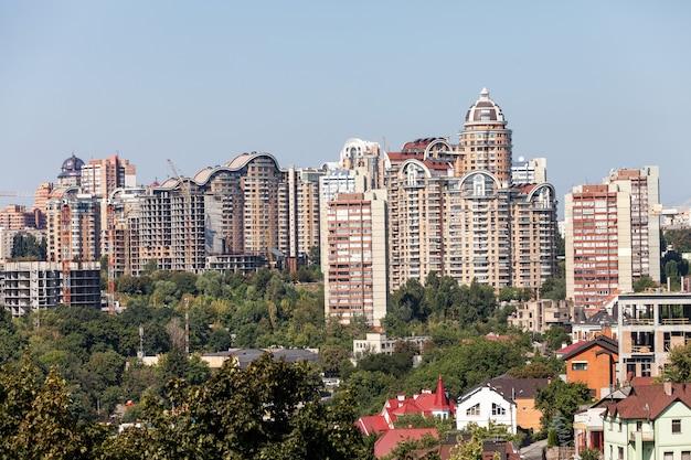 古代都市キエフの新しい家。ウクライナ