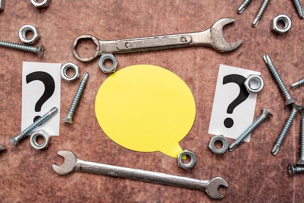 Новые идеи, поиск идей для планирования технического обслуживания, ремонтные решения, строительный проект