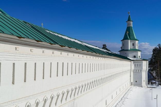 Новоиерусалимская православная обительская стена, истра, россия