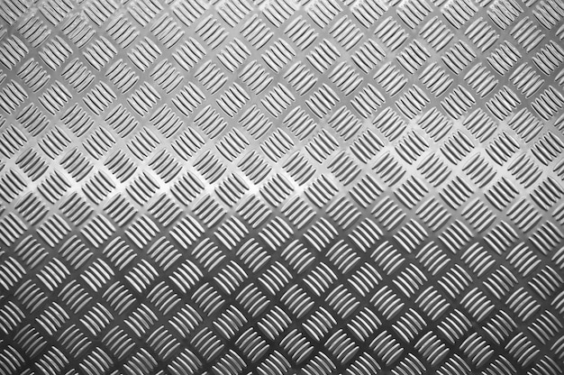 New metal diamond floor plate light and shadow texture background
