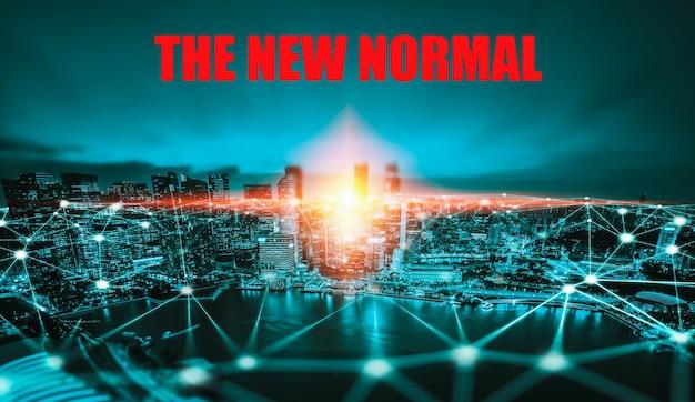 Covid19コロナウイルスによってもたらされる新しい通常の概念