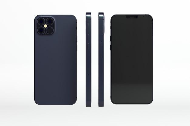 Nuovo concetto di telefono con diversi design