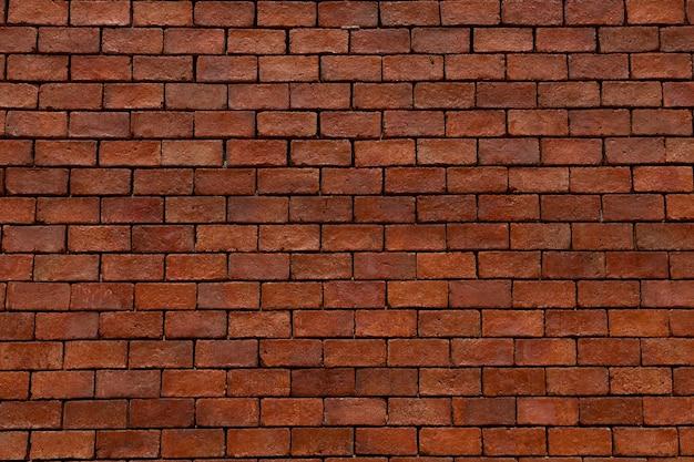 新しい赤レンガの壁のテクスチャの背景