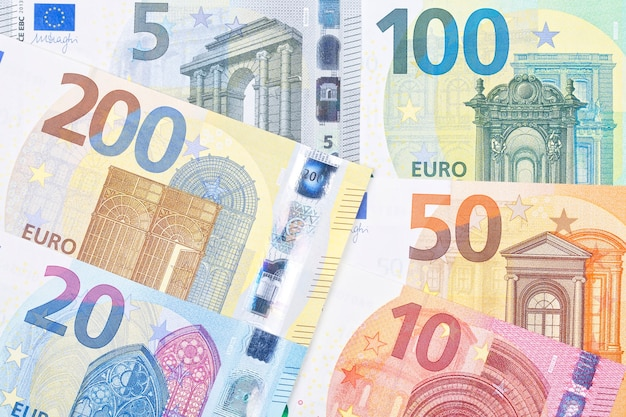 New series of european money a business surface