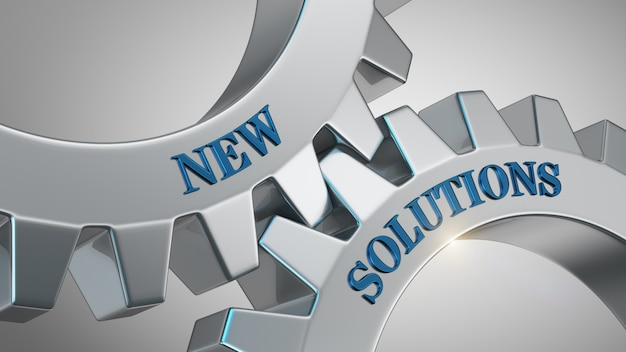 New solutions background