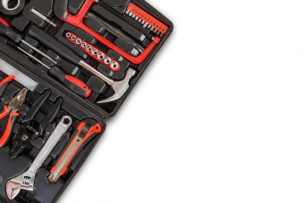 New square black tool box.