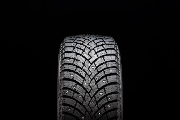 New winter studded tire, safety and premium quality.