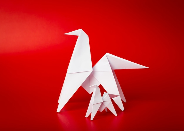 新しい年2014折り紙の馬