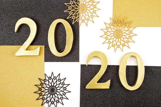 New year 2020 celebration concept