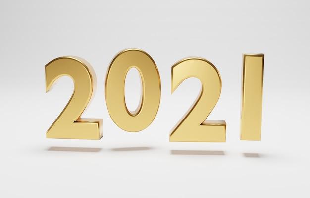 Новогодние числа 2020 года на белом фоне с копией пространства бесплатные фотографии