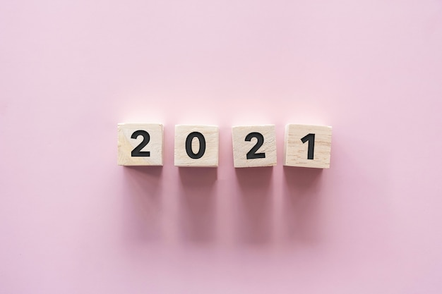 New year 2021 is coming creative inspire idea concept.