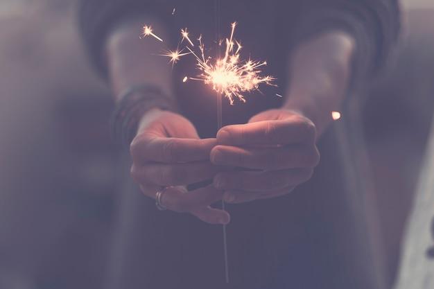 新年とお祝いのコンセプト