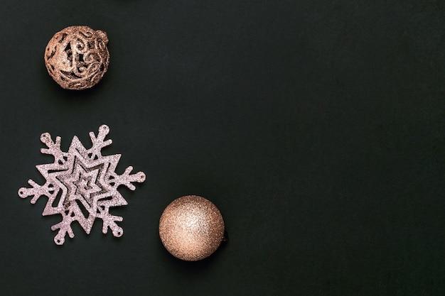 新年とクリスマスのグリーティングカード。