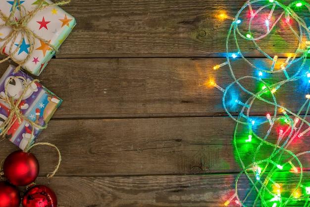 새해와 크리스마스 목컵