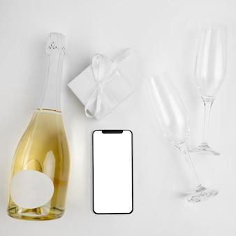 Новый год с шампанским