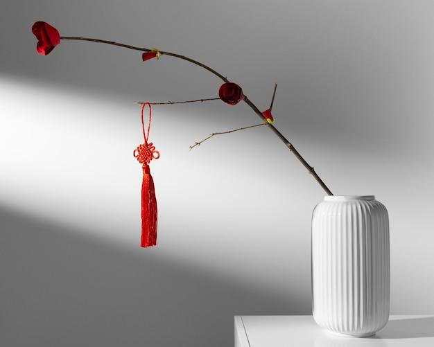 花瓶の新年の中国の2021年の花