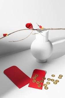 Китайские новогодние 2021 монеты высокого вида