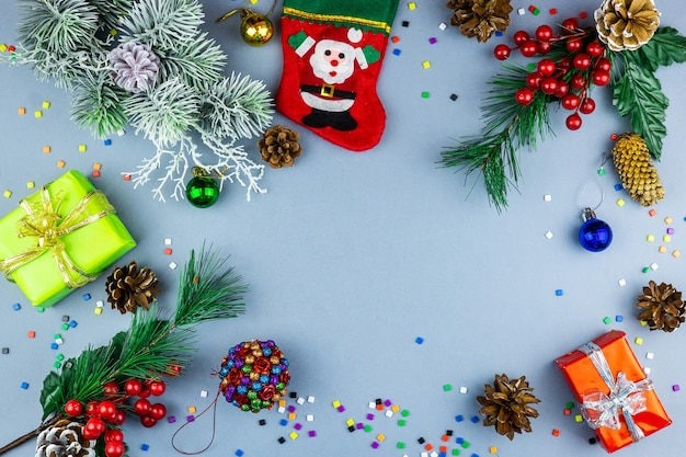 New year and christmas toys