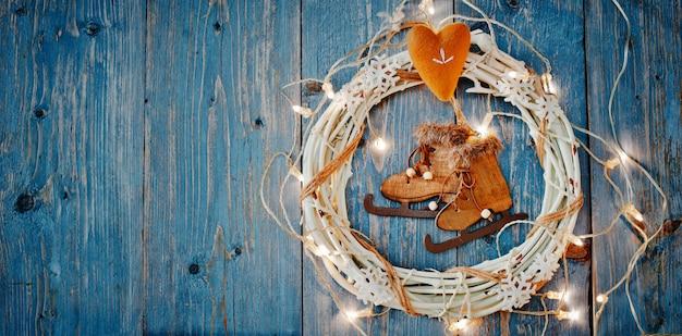 Premium Photo | New year decorations around christmas ...