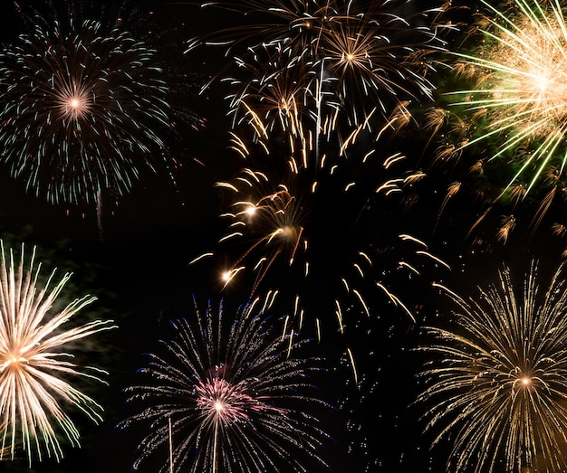새해 불꽃 놀이, 새해 소원 개념