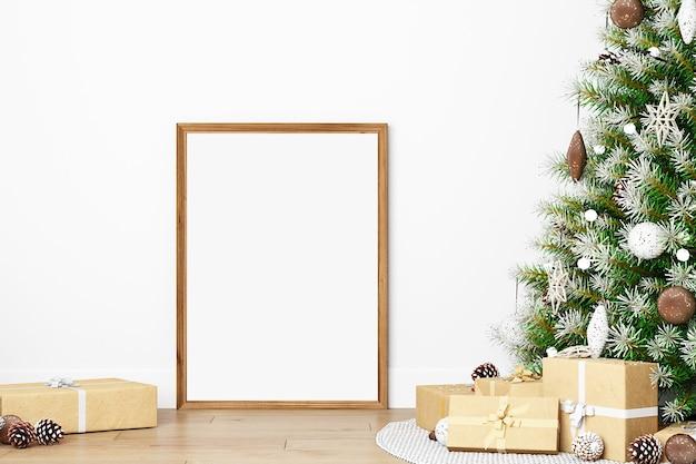 New year mockup frame mockup christmas mockups