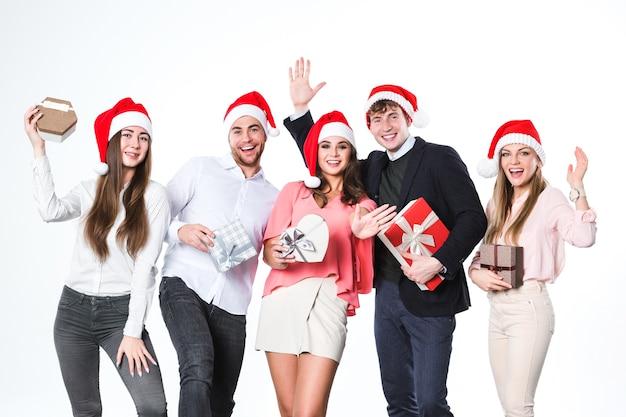 새해 또는 크리스마스 파티