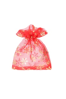 New year red gift bag