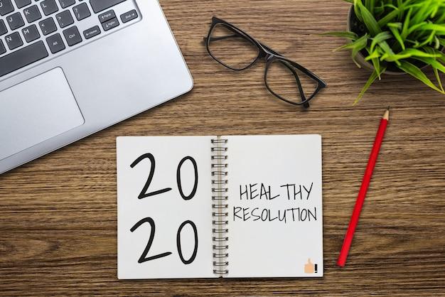 Список целей новогодней резолюции на 2020 год.