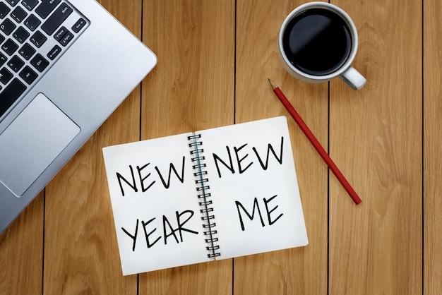 New year resolution goal list