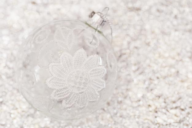 お正月透明ボール