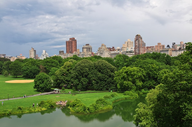 New york central park, united states