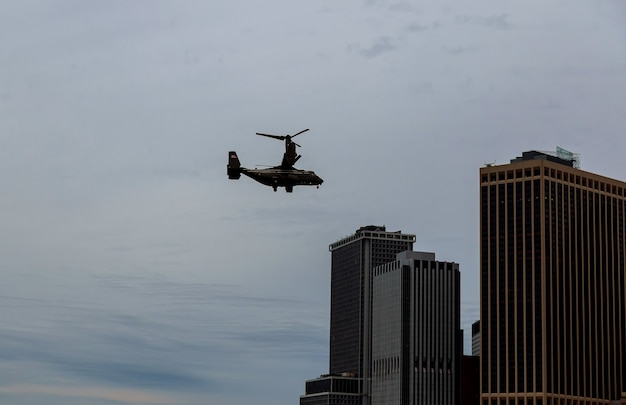 ニューヨーク市マンハッタンマリンヘリコプター戦隊アメリカ大統領の1人のhmx-1