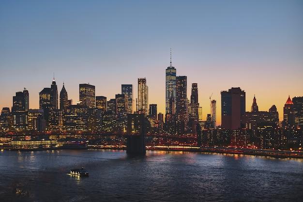 Нью-йоркский городской пейзаж