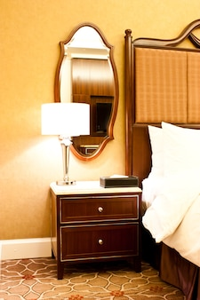 ニューヨーク、高級ホテルのインテリア