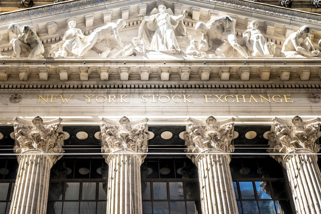 Нью-йоркская фондовая биржа в сша