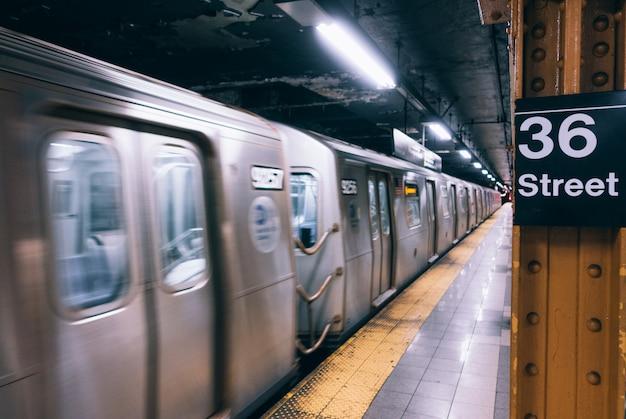 Станция метро нью-йорк метро