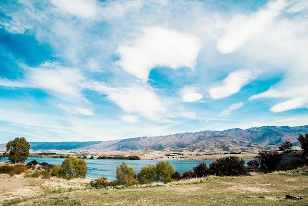 Новая зеландия. оз. данстан
